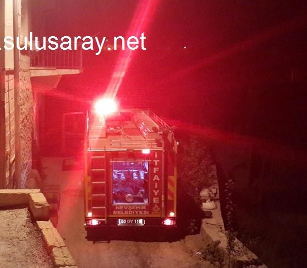 sulusaray-cati-yangin
