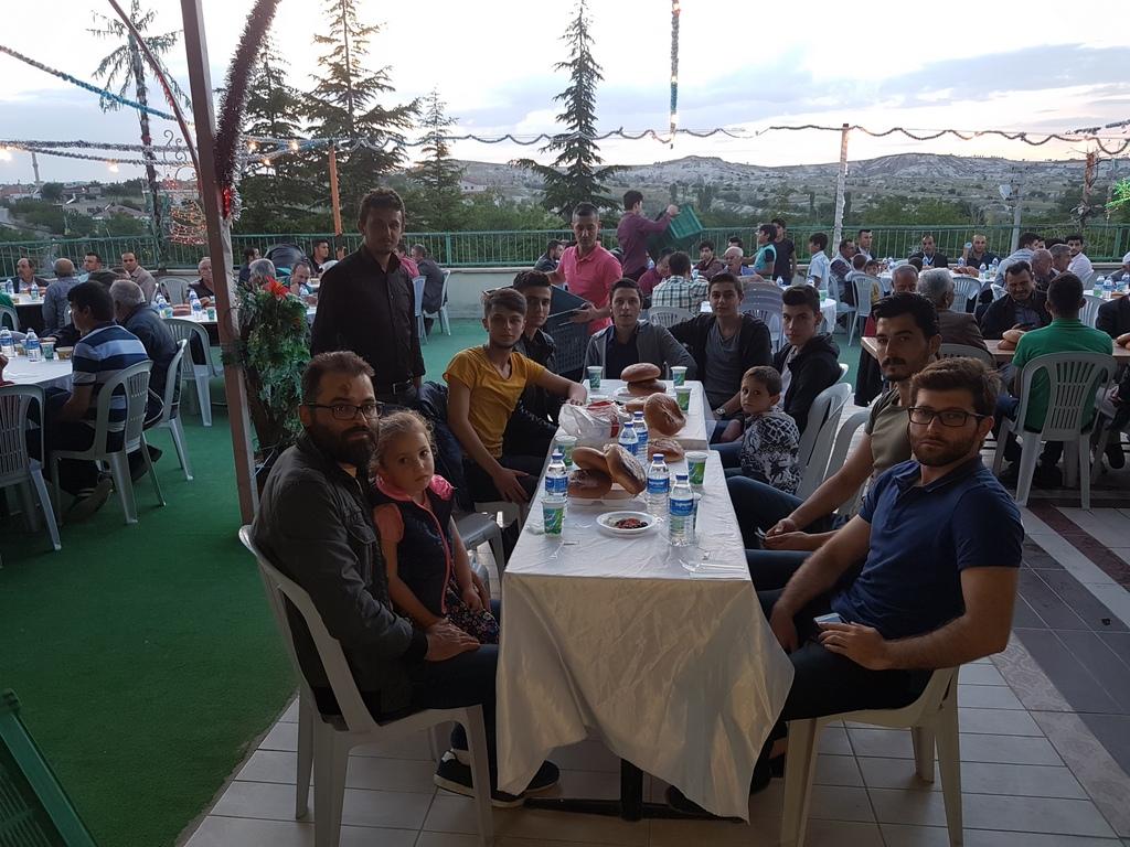sulusaray toplu iftar yemeği