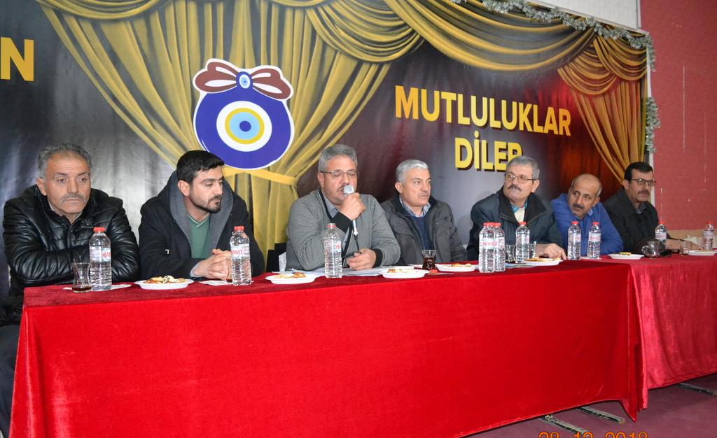 sulusaray kasabası belediye başkanı Bayram Yılmaz 5 Yılı Değerlendirme ve İstişare Toplantısı Düzenledi