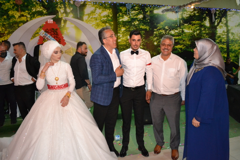 mehmet savrandan,bayram yılmaza düğün ziyareti