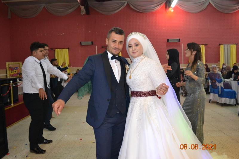 Gülsüm ile Osman'a Ömür Boyu Mutluluklar